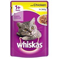 Whiskas alutasakos csirkehús zselében
