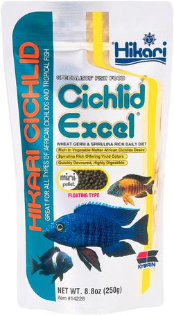 Hikari Cichlid Excel Mini növényevő díszhalaknak | Kistestű fajtáknak