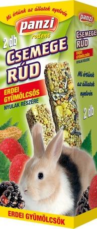 Panzi erdei gyümölcsös csemege rúd nyulak részére