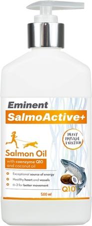 Eminent SalmoActive+ lazacolaj Q10 koenzimmel és kókuszolajjal
