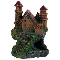 Trixie kastély piros tornyokkal
