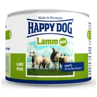 Happy Dog Lamm Pur - Tiszta bárányhúsos konzerv | Egyetlen fehérjeforrás
