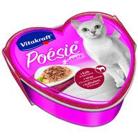 Vitakraft Poésie alutálkás macskaeledel borjúhússal sajtszószban