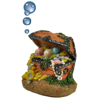 Happet kincsesláda – Levegőporlasztós akvárium dekoráció