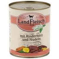 LandFleisch Dog marhaszíves és tésztás konzerv
