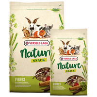 Versele-Laga Nature Snack Fibres | Magas rosttartalmú eledel kisállatoknak