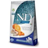 N&D Dog Ocean Adult Medium/Maxi sütőtök, tőkehal & narancs | Közepes és nagytestű felnőtt kutyáknak