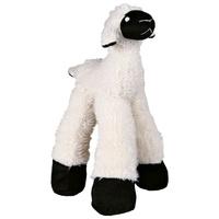 Trixie hosszú lábú csipogó és csörgő plüss bárány