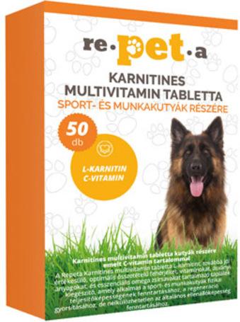 Re-pet-a karnitines multivitamin tabletta kutyáknak