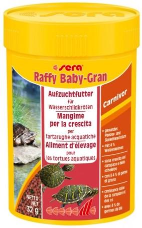 Sera Raffy Baby-Gran növendék víziteknős táp