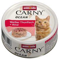 Animonda Carny Ocean fehér tonhalas és marhahúsos konzerv