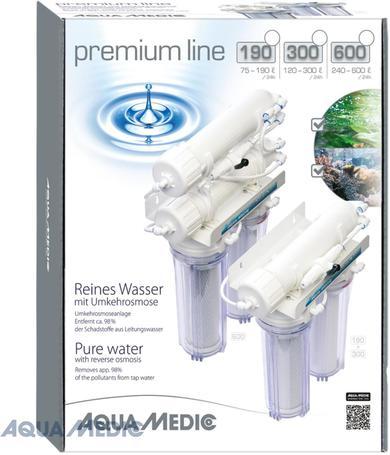 Aqua Medic Premium Line 90-150-300 fordított ozmózis szűrő