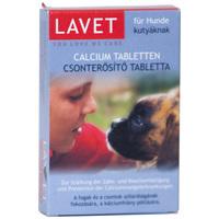 Lavet csonterősítő tabletta kutyáknak