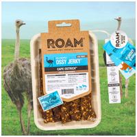 Roam - Dél-Afrikai szabadtartású strucc húscsíkok, jutalomfalat allergiás kutyáknak