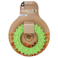 Rubb'n'Dental méreganyagmentes és környezetbarát fogtisztító karika