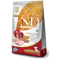 N&D Dog Puppy Mini Chicken & Pomegranate Low Grain | Kistestű kölyöktáp | Csirkehússal és gránátalmával