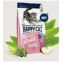 Happy Cat Junior Sterilised Atlantik-Lachs | Lazacos táp ivartalanított kölyökmacskáknak