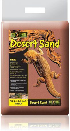 Exo Terra vörös sivatagi homok terráriumba