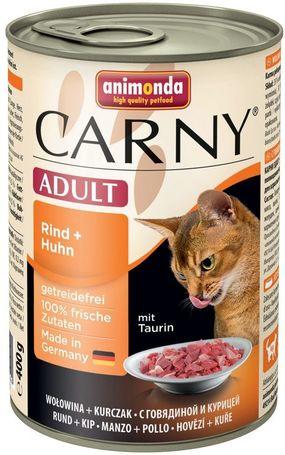 Animonda Carny Adult marha- és csirkehúsos konzerv macskáknak