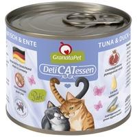 GranataPet DeliCatEssen tonhalas és kacsahúsos konzerv macskáknak