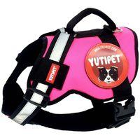 Yutipet RnD RnD párnázott biztonsági kutyahám (Rózsaszín)