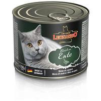 Leonardo kacsahúsban gazdag konzerves macskaeledel
