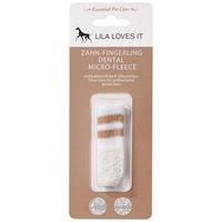 Lila Loves It ujjra húzható ezüstionos fogkefe kutyáknak és macskáknak