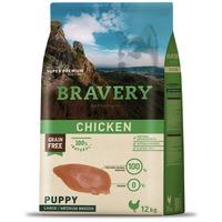 Bravery Dog Puppy Medium/Large Grain Free Chicken | Kutyatáp Spanyolországból közepes és nagy növendék kutyáknak | Gabonamentes