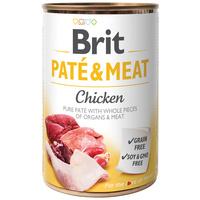 Brit Care Paté & Meat Chicken konzerv kutyáknak - Pástétom egész húsdarabokkal