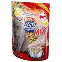 Panzi Cat-Mix marhás, csirkés és zöldséges száraztáp cicáknak