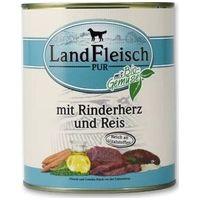 LandFleisch Dog marhaszíves és rizses konzerv