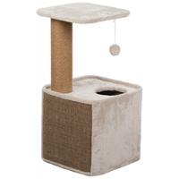 Trixie Lisann macskabútor plüss ülőfelülettel és odúval