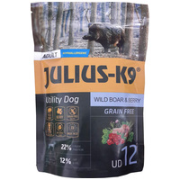 Julius-K9 GF Hypoallergenic Utility Dog Adult Wild Boar & Berry | Vaddisznóhúsos és áfonyás kutyatáp | Gabonamentes