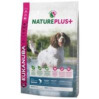 Eukanuba NaturePlus+ Adult Medium Salmon | Közepes testméretű kutyáknak ajánlott szuperprémium száraztáp lazacból