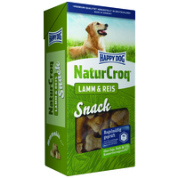 Happy Dog NaturCroq Lamm & Reis Snack
