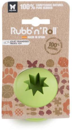 Rubb'n'Treat jutalomfalattal tölthető, méreganyagmentes és környezetbarát labda