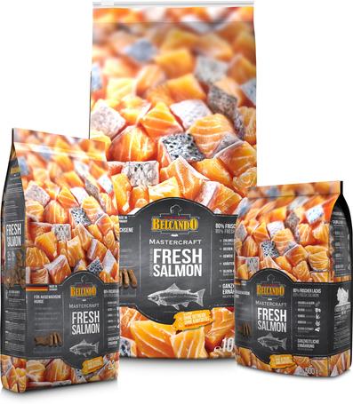 Belcando Mastercraft Fresh Salmon | 80% friss lazacból készült szuperprémium német kutyatáp