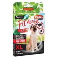 FitActive kullancs- és bolhariasztó spot on kutyáknak (XL; Nagy-, óriástestű kutyáknak; 5 db pipetta)