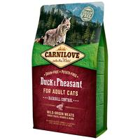 CarniLove Cat Adult Hairball Control kacsa- és fácánhússal | Száraztáp macskáknak