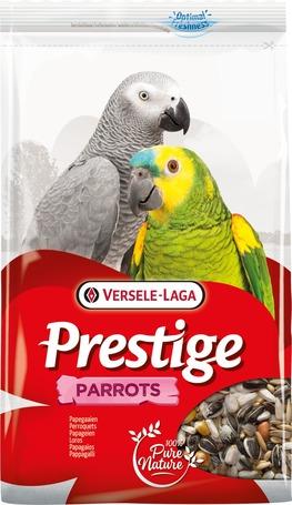 Versele-Laga Prestige Parrots | Válogatott eleség afrikai papagájoknak, jákóknak és más nagy méretű papagájoknak