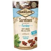 CarniLove Cat Semi Moist Snack szardíniával és petrezselyemmel