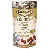 CarniLove Cat Semi Moist Snack csirkével és kakukkfűvel