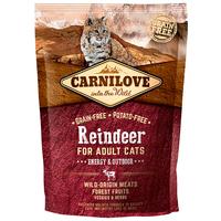 CarniLove Cat Adult Energy & Outdoor rénszarvashússal | Száraztáp kinti macskáknak