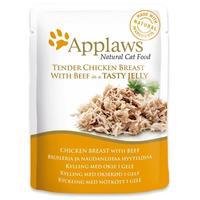 Applaws alutasakos macskaeledel csirke és marhahússal zselében