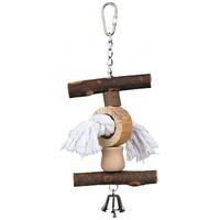 Trixie faelemek csengővel láncon és kötélen