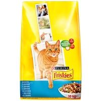 Friskies Cat lazacos és zöldséges szárazeledel macskáknak