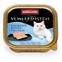 Animonda Vom Feinsten ivartalanított macskáknak – Pulykahúsos és pisztrángos eledel