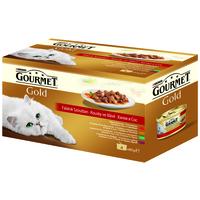 Gourmet Gold falatok szószban – Multipack (4 x 85 g)