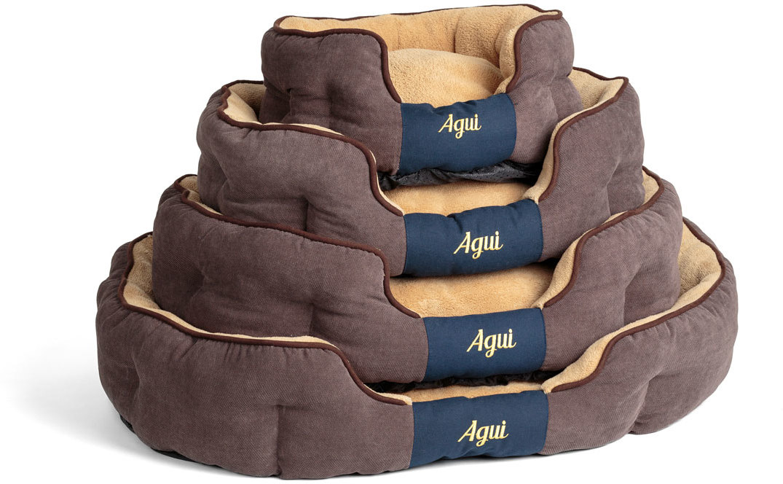 005060e157 Agui Nevada ovális formájú kutyaágy barna színben