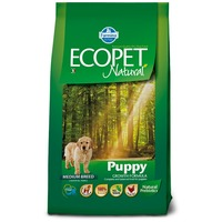 Ecopet Natural Puppy Medium | Közepes testű kölyökkutya táp